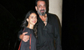 Wrap  up bash of the film Bhoomi with Sanjay Dutt and cast