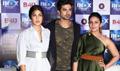 Huma Qureshi, Saqib Saleem and Rhea Chakraborty launch a song from Dobaara