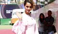 Kangna Ranaut promotes her film Rangoon