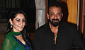Sanjay Dutt's Eid dinner with Bhoomi starcast