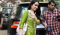 Shraddha Kapoor snapped as she arrives for Half Girlfriend promotional shoot