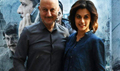 Taapsee Pannu and Anupam Kher promote their film Naam Shabana