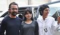 Aamir Khan, Kiran Rao and Zaira Wasim grace the first look launch of Secret Superstar