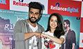 Arjun Kapoor and Shraddha Kapoor snapped at Half Girlfriend promotions in Juhu
