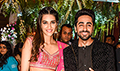 Ayushmann Khurrana and Kriti Sanon gatecrash a wedding to promote their film Bareilly Ki Barfi