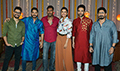 Golmaal Cast snapped at a Diwali special shoot for movie promotions