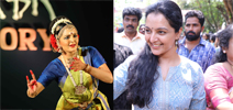 Manju Warrier At Udhaharanam Sujatha Movie Promotion
