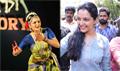Manju Warrier At Udhaharanam Sujatha Movie Promotion