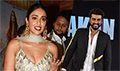 Sangeet ceremony with the cast and crew of the film Mubarakan
