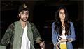 Ranbir Kapoor and Katrina Kaif depart for their film Jagga Jasoos promotions in Abu Dhabi