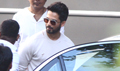 Shahid Kapoor snapped at Filmcity for Padmavati promotions