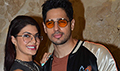 Sidharth Malhotra & Jacqueline Fernandez snapped at A Gentleman promotions on radio