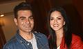 Sunny Leone and Arbaaz Khan at Tera Intezar movie promotions