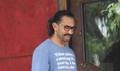 Aamir Khan spotted at a spa