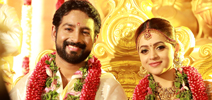 Actress Bhavana Wedding Photos