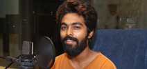 Adangathey Movie Dubbing Started Photos