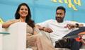 Ajay Devgn and Kajol snapped endorsing the plastic ban