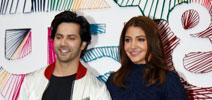 Anushka Sharma and Varun Dhawan grace the trailer launch of Sui Dhaaga - Made In India