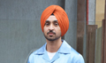 Diljit Dosanjh snapped promoting his film Soorma