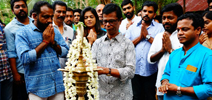 Nithyaharitha Nayakan Movie Pooja