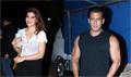 Salman Khan & Jacqueline Fernandez snapped at  Meheboob Studio