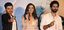 Shahid Kapoor and Shraddha Kapoor launch the trailer of 'Batti Gul Meter Chalu'