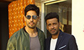 Sidharth Malhotra and Manoj Bajpayee at Aiyaary promotions