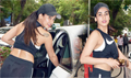 Sonal Chauhan spotted at gym