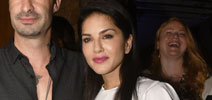 Sunny Leone snapped in Juhu