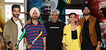 Taapsee Pannu, Diljit Dosanjh and Chitrangda Singh grace the trailer launch of Soorma