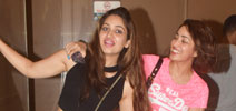Yami Gautam snapped with her sister in Bandra