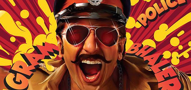 """Ranveer Singh as cop in """"Simmba"""""""