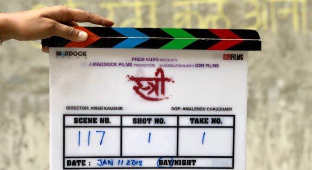 Rajkummar, Shraddha team up for 'Stree'