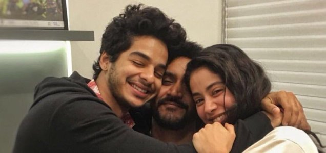 It's wrap up for 'Dhadak'