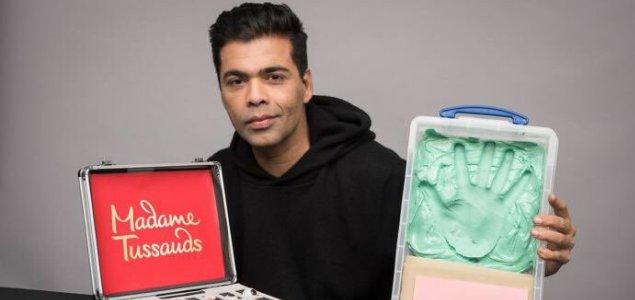 Karan Johar first Indian director at Madame Tussauds