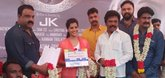 Varalaxmi Sarathkumar plays blind girl in new movie
