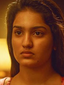 Saniya Iyyappan in Lucifer as Jhanvi