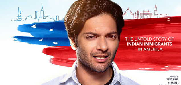 Ali Fazal & Melanie Chandra starrer 'For Here Or To Go' First Look Poster