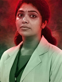 Rima Kallingal in Virus as character based on Sister Lini